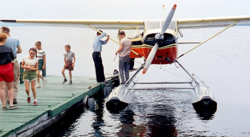 First Plane Ride: 1960