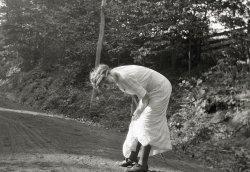 A Daring Pose: 1912