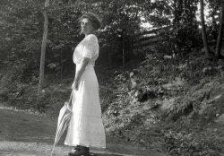 A Droll Stroll: 1912