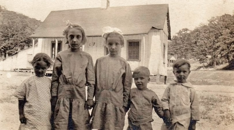 Coal Camp Kids: 1910