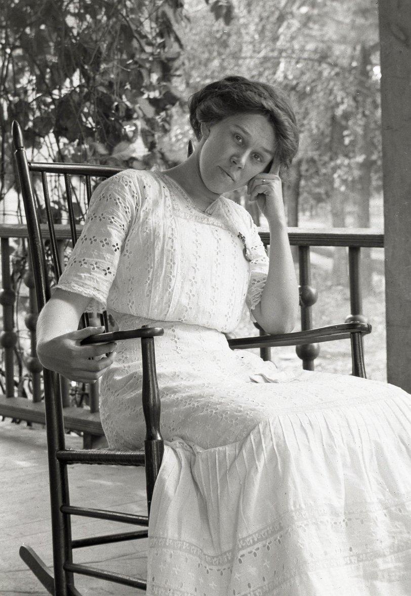 Pensive Rocker: 1912
