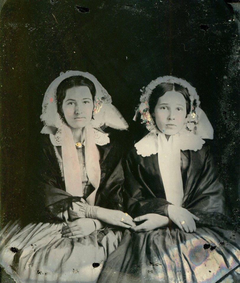 Two Women: circa 1850