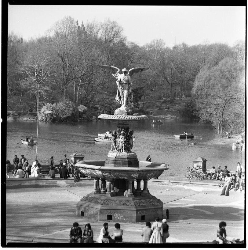 Bethesda Fountain: 1975