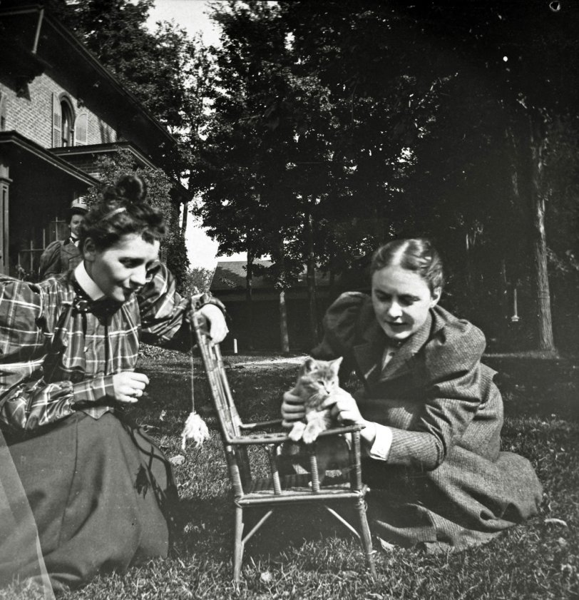 Irene and Florence: 1897
