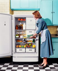 Major Appliance (Colorized): 1948