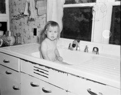 Kitchen Sink Baby: c. 1953