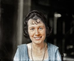 Bertha May Graf (Colorized): 1921