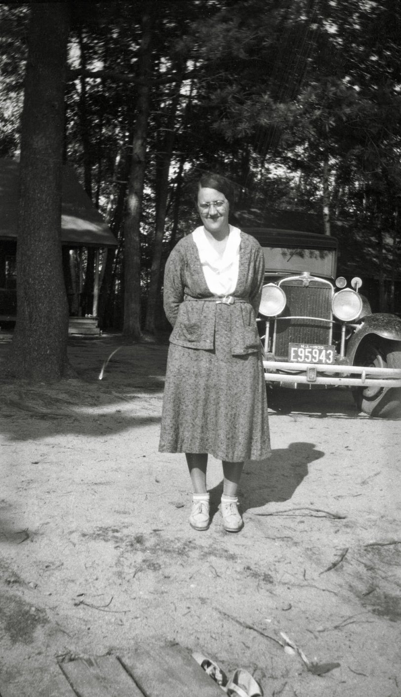 Woman with Car: 1932
