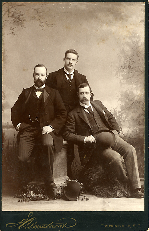 Three stylish fellows