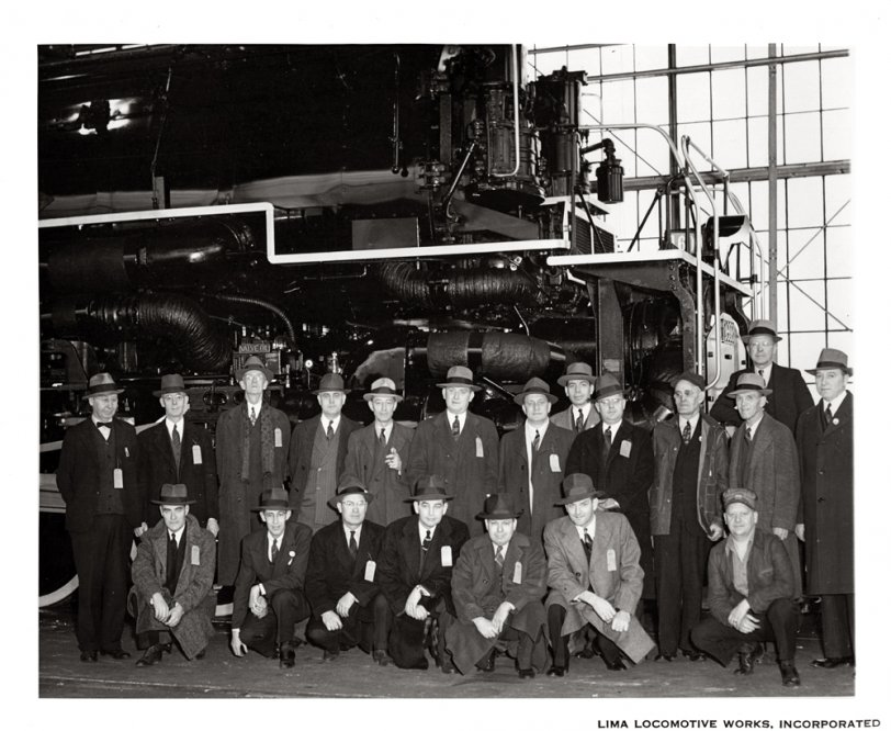 C&O Allegheny Locomotive: 1941
