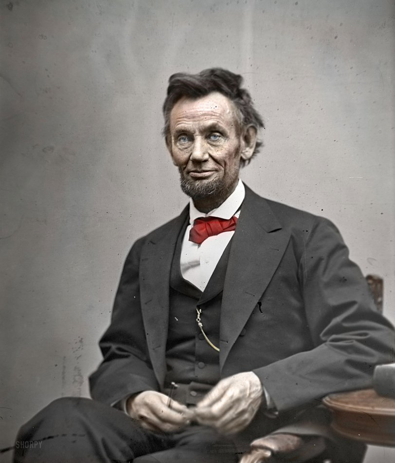 Lincoln (colorized)
