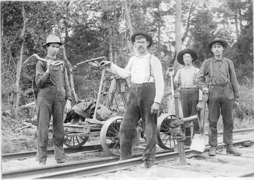 Working on the Railroad: 1899