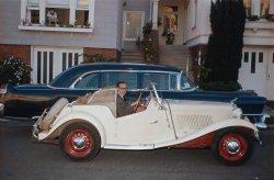 MG vs. Cadillac: 1955