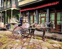 The Milkmobile (colorized): 1903