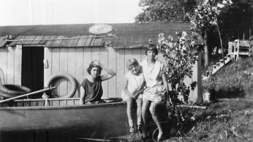 Girls in a Boat: 1929