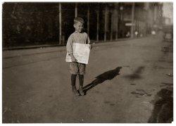 Mobile Newsboy: 1914
