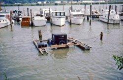 Old Car Raft