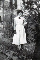 My Mom in Switzerland, 1954