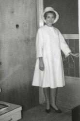 Mom in a Swing Coat