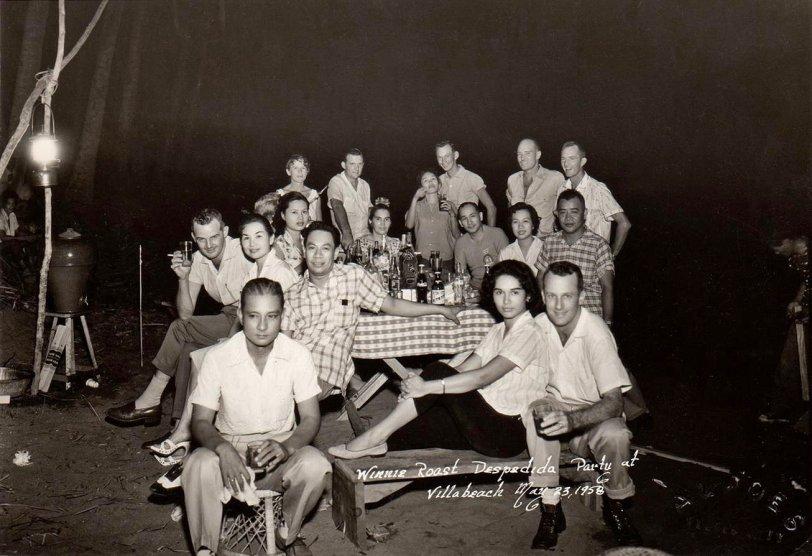 Winnie Roast: 1958