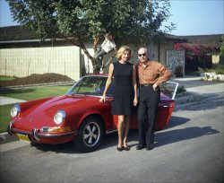 Mom, Uncle John, the Porsche and Me