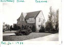 34 West Monteray in 1934
