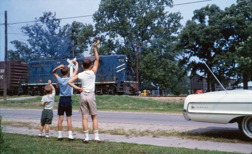 Train Waving: 1967