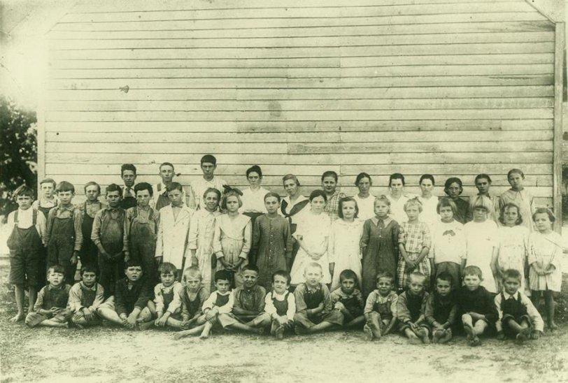 Mulberry Gap School: 1918
