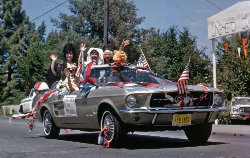 Star-Spangled Stang: 1967