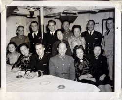 Party Boat, US Navy in China: c. 1946