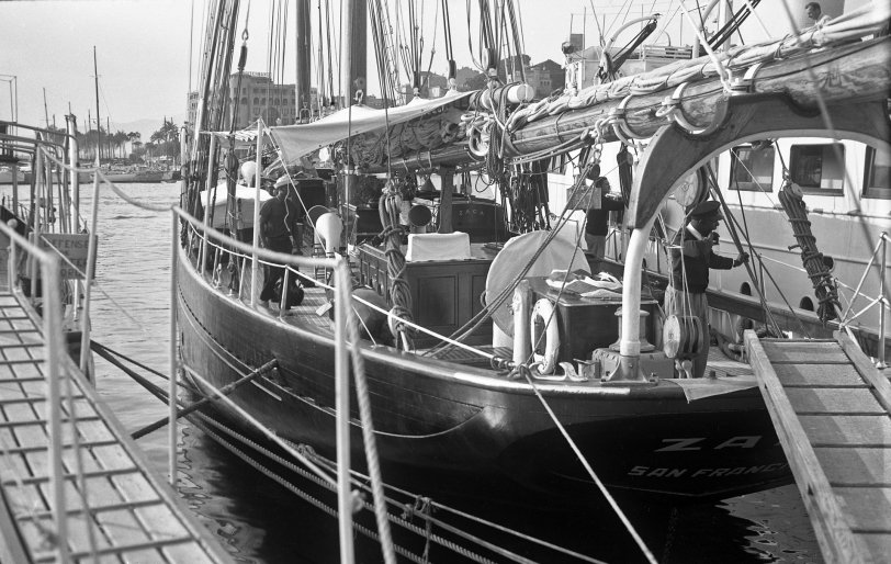 The Zaca: 1950