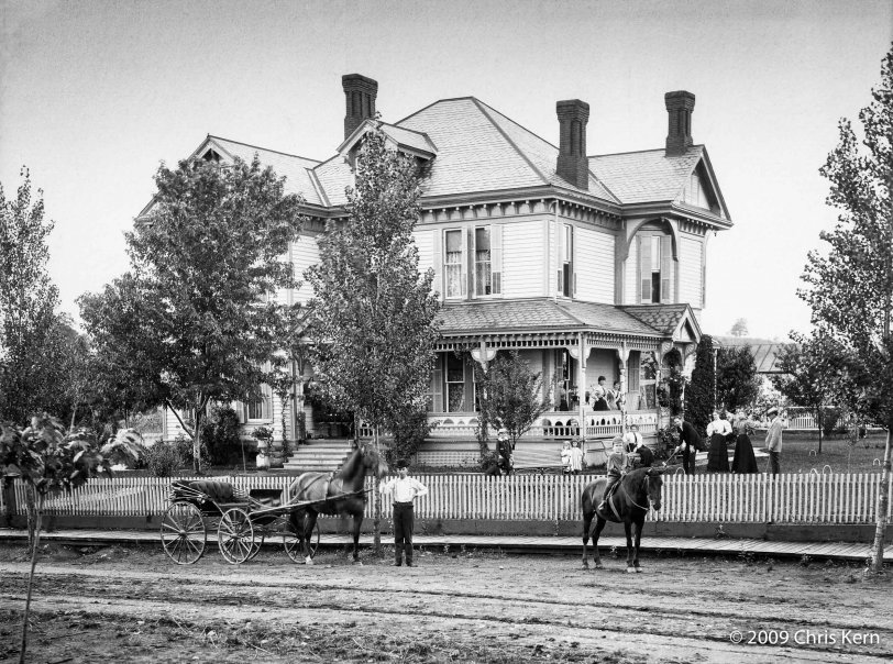 The Old Woodsfield House: 1895
