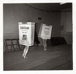 Old Gold Cigarette 1956
