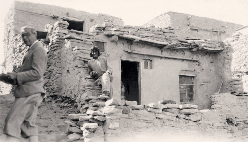 Old Oraibi Reservation: 1930