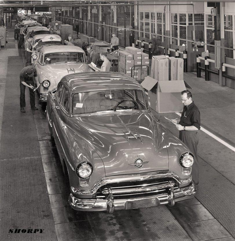 New Oldses: 1951