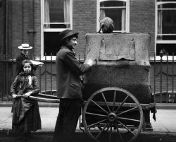 Organ Grinder and Daughter