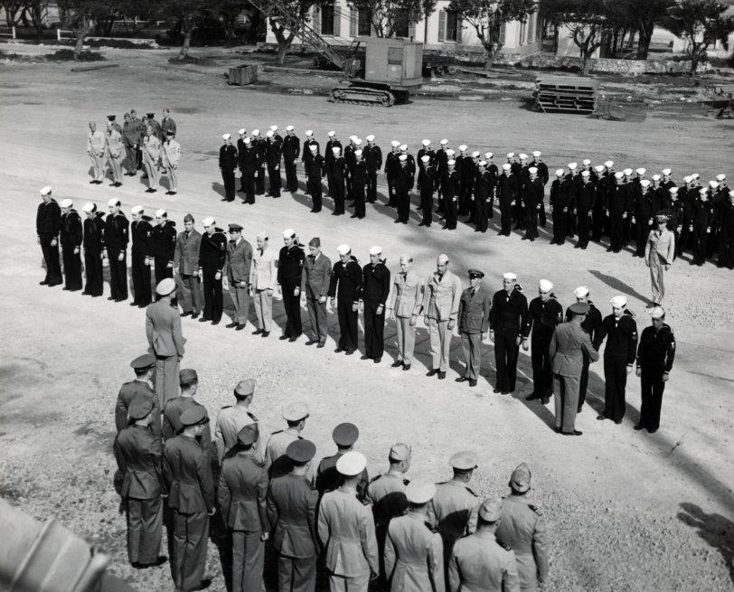 USS Duane Heroes: 1945