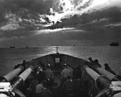 Sunrise Service Aboard USS Duane: 1944