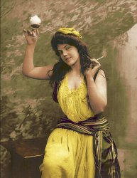 Party Girl (Colorized): 1910