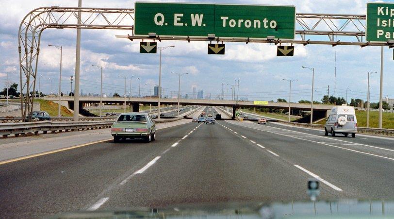 QEW Toronto: 1979