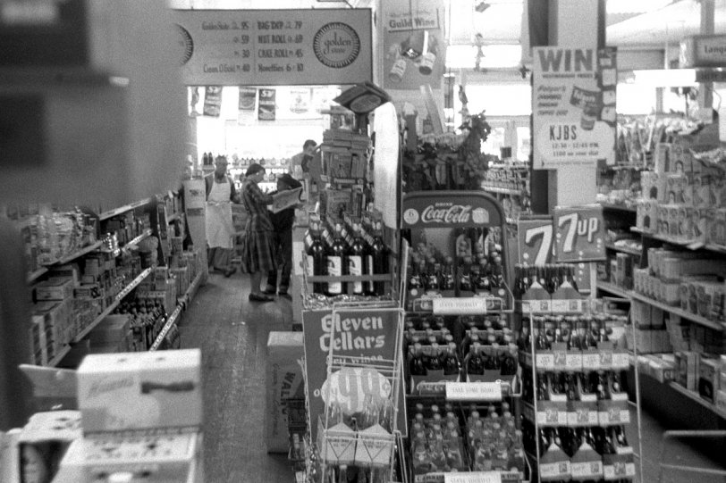 The Rainbow Market: 1955