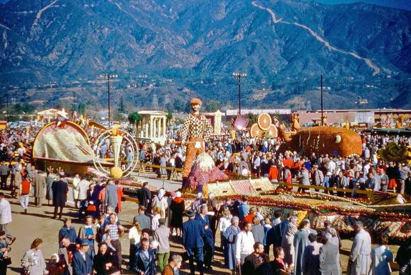 Rose Parade in a Park: 1961
