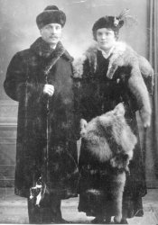 Timofei and Daria Rishkov 1910