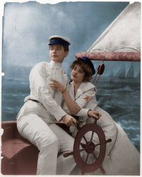 Shipmates Again (colorized)