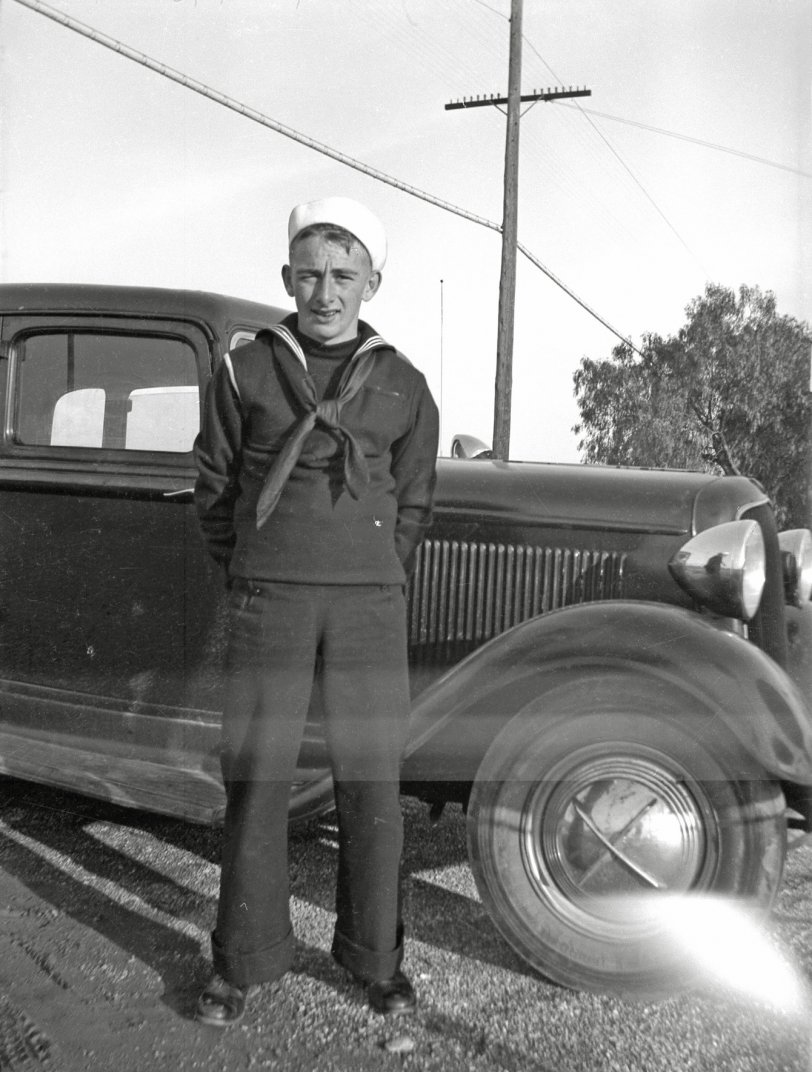 A Sailor and a Car