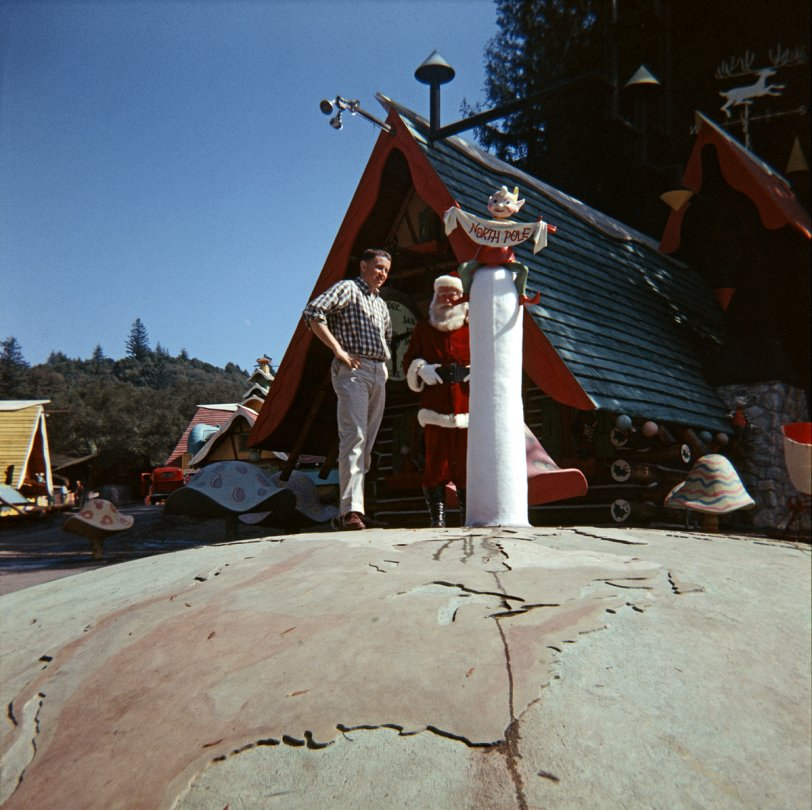 At the North Pole: 1958