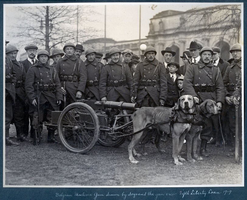 Belgian Gun Crew: 1919