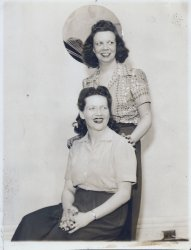 Mom and Friend, Early 1930's