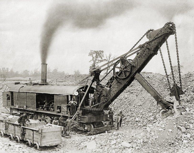 Steam Shovel: 1921