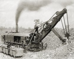 Steam Shovel: 1921